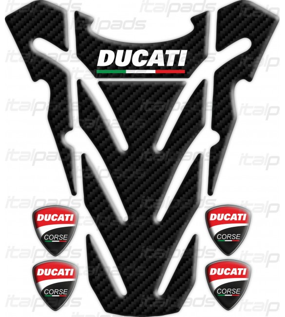 14 Adhesives Stickers Ducati Corse Old Various Measures
