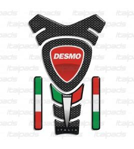 "Paraserbatoio ""ITALIA Racing"" per Ducati mod. ""Texas"" + 4"