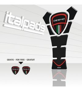 Paraserbatoio per Ducati mod. TexasEco schwarz/carbonio