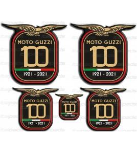 Dekorative Aufkleber aus Harz Centenary Anniversary Moto Guzzi