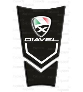 Motorrad Tankschutz Schwarz für  DUCATI XDiavel