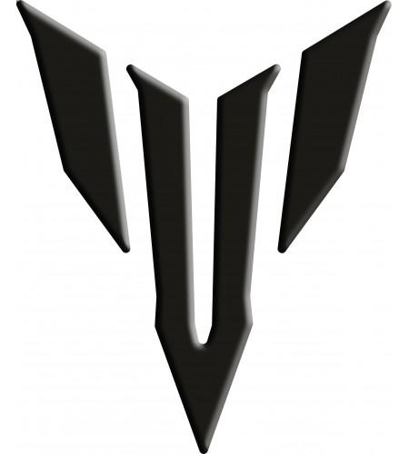 Paraserbatoio Resinato Yamaha Logo MT 09 Nero Tank Pad Black