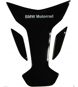 Paraserbatoio resinato BMW nero, black BMW TANK PAD PROTECTIVE wings