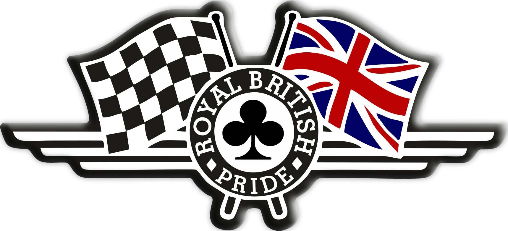 3d Gel Aufkleber Royal British Pride Flag Union Jack Triumph